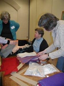 Anne Wilson, Sharon Alderman and Sandy Sobolewski